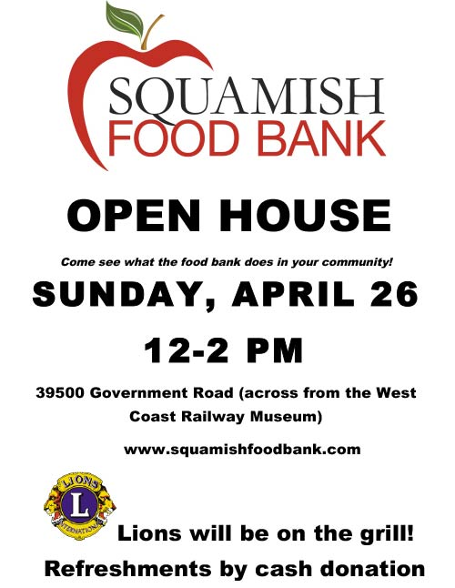 food bank open house
